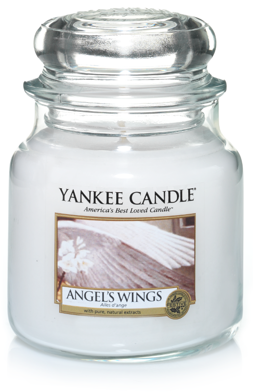 "Yankee Candle ""Angel's Wings"" im mittleren Glas"