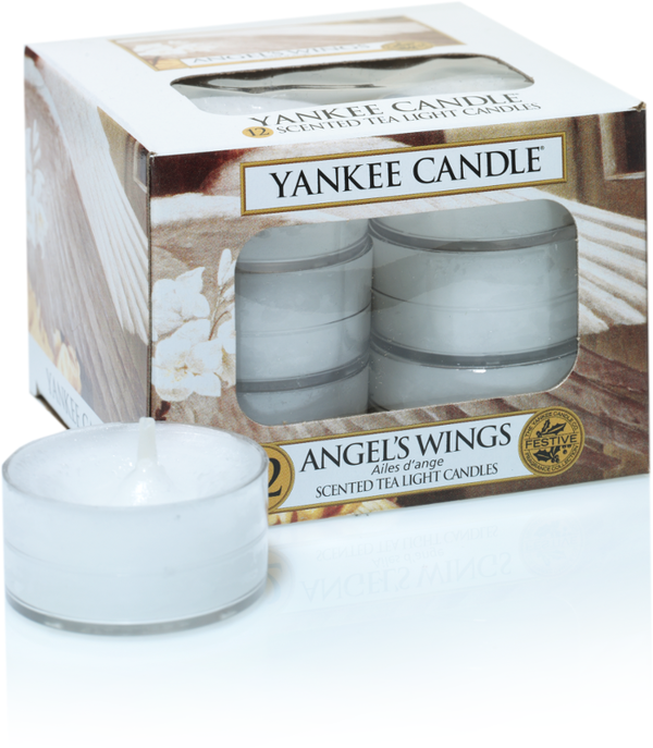 "Yankee Candle ""Angel's Wings"" Teelichter"