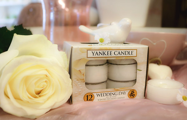 "Yankee Candle ""Wedding Day™"" Teelichter"