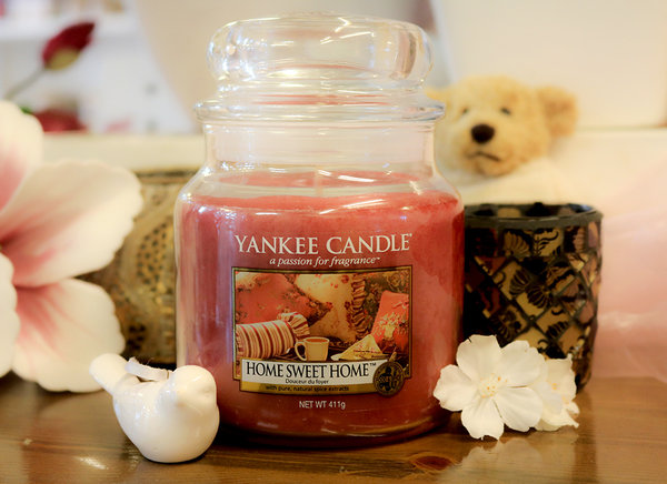 "Yankee Candle ""Home Sweet Home®"" im mittleren Glas"