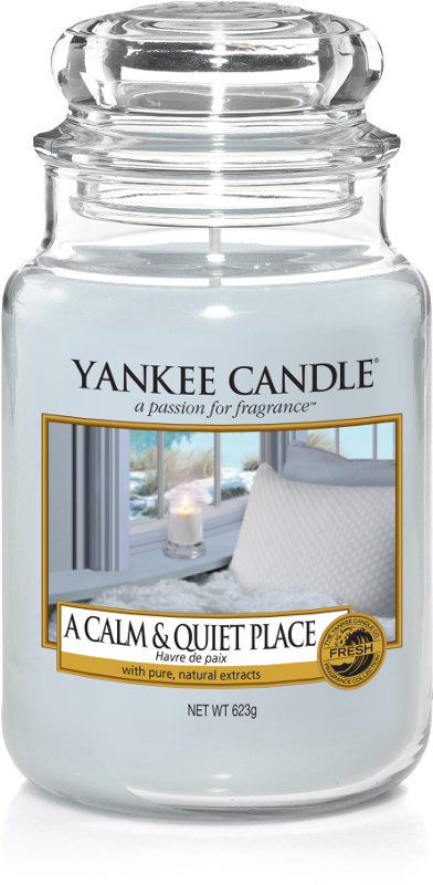 "Yankee Candle ""A Calm & Quiet Place"" im großen Glas"