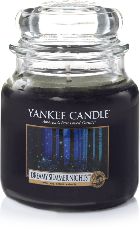 "Yankee Candle ""Dreamy Summer Nights™"" im mittleren Glas"