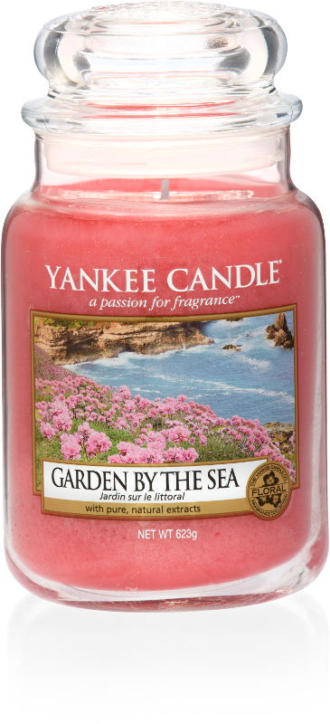 "Yankee Candle ""Garden by the Sea"" im großen Glas"