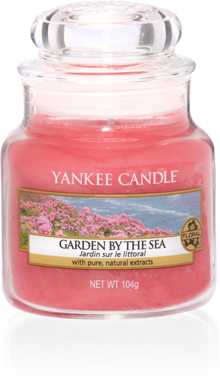 "Yankee Candle ""Garden by the Sea"" im kleinen Glas"