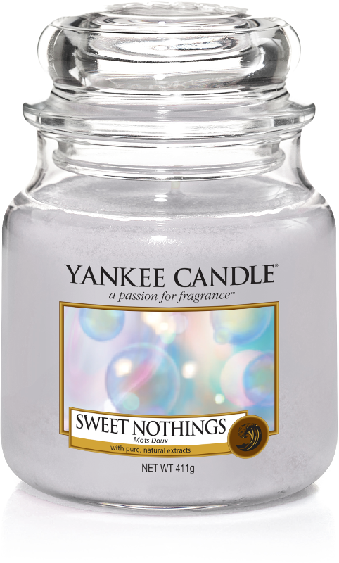"Yankee Candle ""Sweet Nothings"" im mittleren Glas"