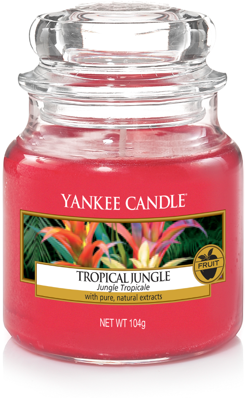 "Yankee Candle ""Tropical Jungle"" im kleinen Glas"