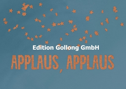 """Applaus, Applaus"" Postkarte"