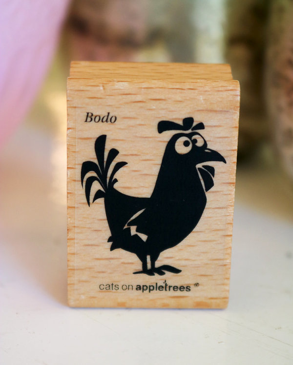 Stempel von Cats on Appletrees: Gockel Bodo