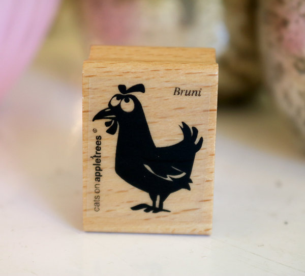 Stempel von Cats on Appletrees: Huhn Bruni