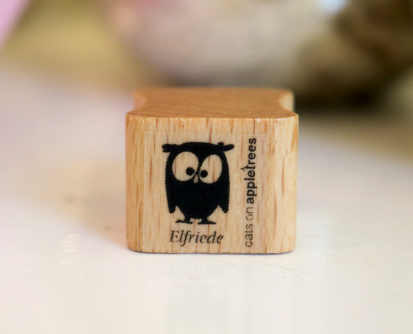 Stempel von Cats on Appletrees: Eule Elfriede