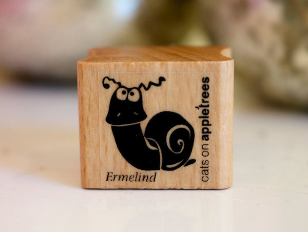 Stempel von Cats on Appletrees: Schnecke Ermelind