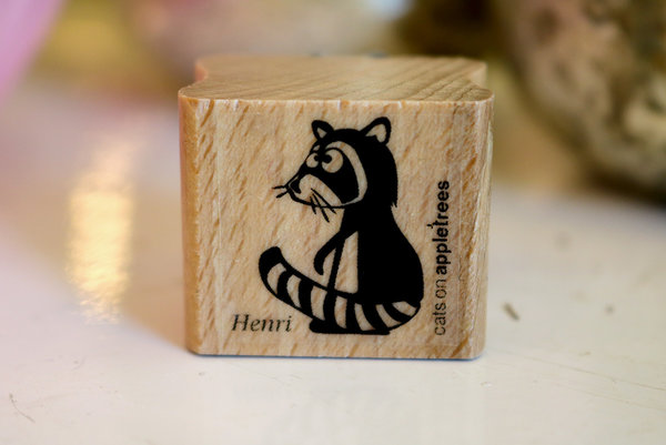 Stempel von Cats on Appletrees: Waschbär Henri