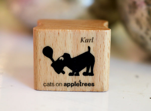Stempel von Cats on Appletrees: Hund Karl