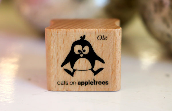 Stempel von Cats on Appletrees: Pinguin Ole