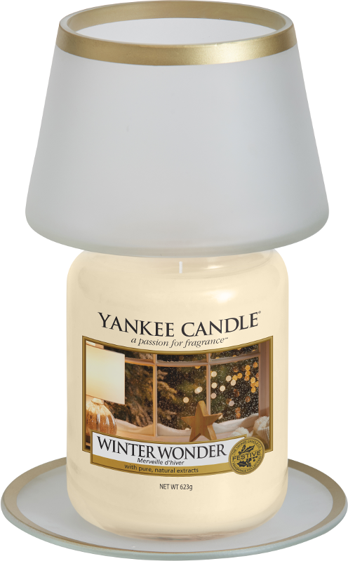 Yankee Candle Frosty Schirm & Teller (groß)