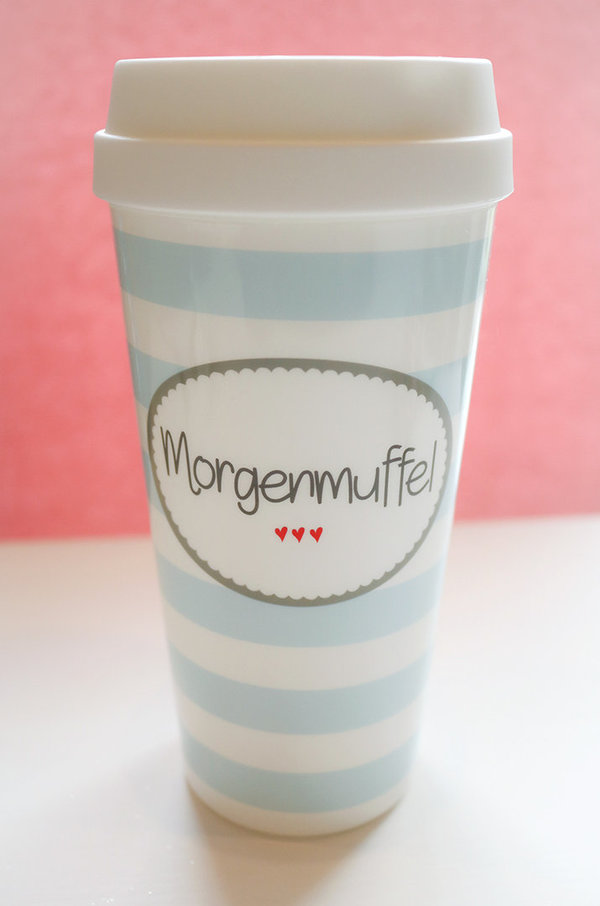 "To-Go-Becher ""Morgenmuffel"""