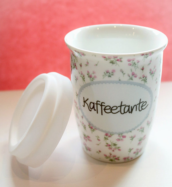"To-Go-Becher ""Kaffeetante"""